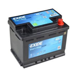 Exide AGM Start & Stop EK600 12V 60AH