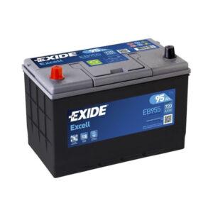 Exide Excell EB955 12V 95AH
