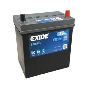 Exide Excell EB356 12V 35AH