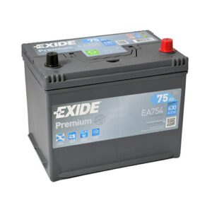 Exide Premium Ιαπωνικού τύπου EA754 12V 75AH