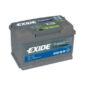 Exide Premium ευρωπαϊκού τύπου EA722 12V 72AH