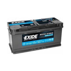 Exide AGM Start & Stop EK1050 12V 105AH